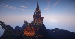 """Halloween Special """"Spooky victorian palace"""" Minecraft Map & Project"""
