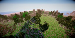 [1.7/1.8] Tinkel Leight [Custom Fantasy Terrain] Minecraft
