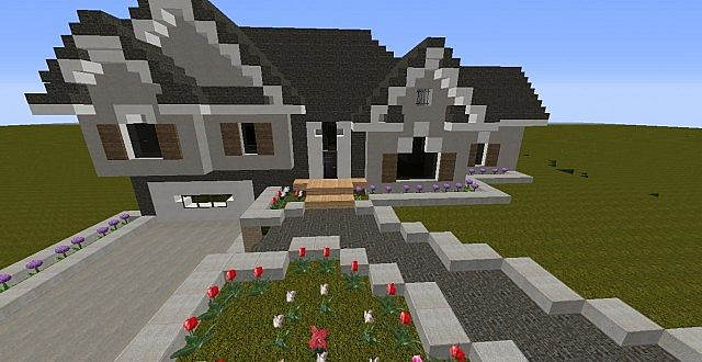 Split level home minecraft project for Split level project homes