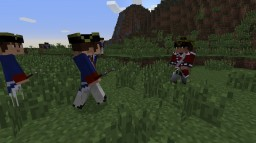 [1.7.10] American Revolution Mod - Adds soldiers with guns! v1.2 Minecraft Mod