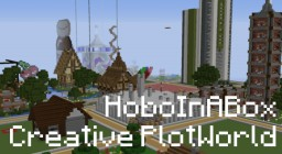 HoboInABox Creative World Minecraft Map & Project