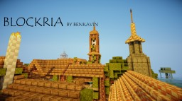 BLOCKRIA | LAND OF ADVENTURE BY BENKAVIN Minecraft Map & Project