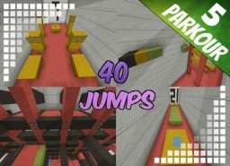 40 Jumps - Parkour Map [1.8+] Minecraft