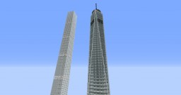 One World Trade Center and 432 Park Avenue Minecraft Map & Project