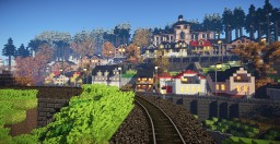 Railway line Karlovy Vary - Johanngeorgenstadt : Tourist patch 2014 Minecraft Map & Project