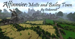 Affinmier: Motte and Bailey Town Minecraft Map & Project
