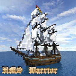 HMS Warrior Minecraft Project
