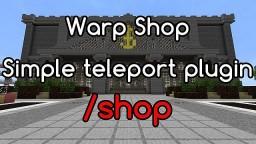 WarpShop [Bukkit Plugin] [Version: 1.2]