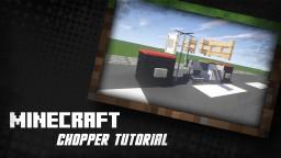 Minecraft Vehicle Showcase 1 - Motorbike / Chopper