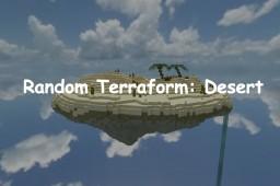 Random Terraform #3: Desert Minecraft Map & Project