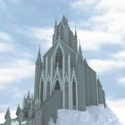 Dark Souls II **MEGA BUILD** Eleum Loyce (WIP) Minecraft Map & Project