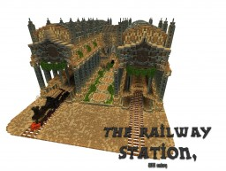 The railway station [Creatruth] Minecraft Project