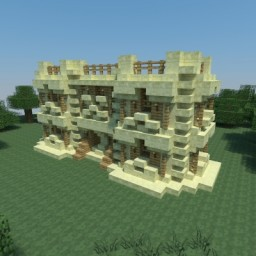 Hardcore survival manor - Survival map Minecraft Map & Project