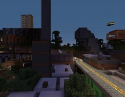 Henderwood, Oakland - IslandCraft (Abandoned) Minecraft Map & Project
