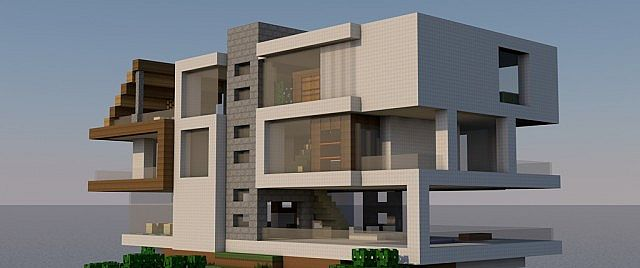 layers a modern mountain house by anderson 55 minecraft