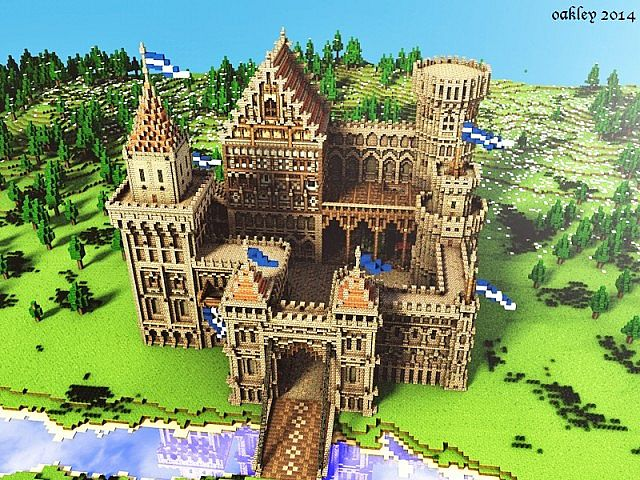 How To Build A Medieval Castle Gate In Minecraft