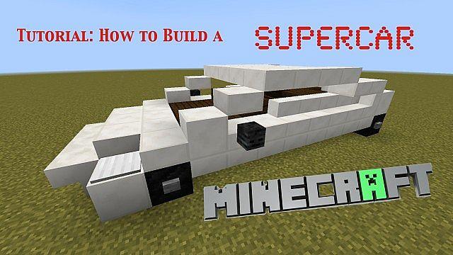 Minecraft Lamborghini-...
