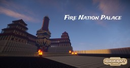 Fire Nation Palace   Rokucraft Minecraft Map & Project