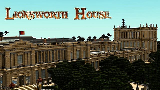 Architecture Houses Minecraft lionsworth house - royal edition (download) minecraft project