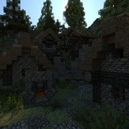 Celtic village Minecraft Map & Project