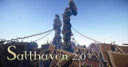 Salthaven 2.0 - City on the water Minecraft Map & Project