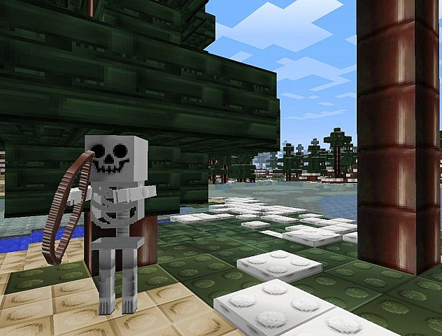 skeleton8294554 [1.9.4/1.8.9] [32x] StudCraft Texture Pack Download