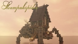 Steampunk Spider House- AWB Build Battle 1 hour build