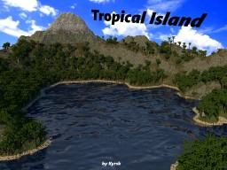 Tropical Island [Creative/Survival] Minecraft Map & Project