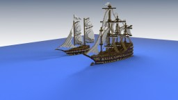 Frigate Minecraft Map & Project