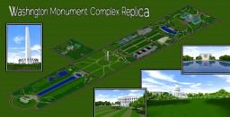 Washintgon Monument Complex Replica 1:1 Minecraft