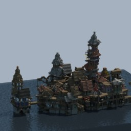 Water city Minecraft Map & Project