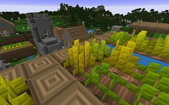 wheat8293154 [1.9.4/1.8.9] [64x] ParrLight Texture Pack Download