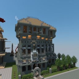 A House #4 Minecraft Map & Project