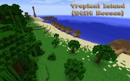 Tropical Island (Stilt Houses) v.1.12.2 & 1.16.5 Minecraft Map & Project