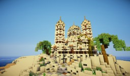 Arabic Mosque by Martzert Minecraft Map & Project