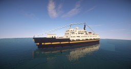 MS Serenissima - 1:1 cruise ship Minecraft Map & Project