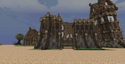 Elven Wall Segments (Bastian and Flat) Minecraft