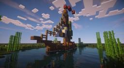 Mini Mondays: small boat Minecraft