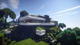Ultra Modern house n°4 Minecraft Map & Project