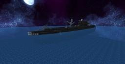 Das Unterseeboot (U-boat) Minecraft Map & Project