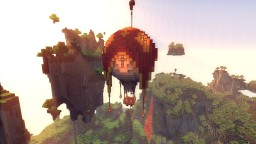 Hot Air Balloon Minecraft Map & Project