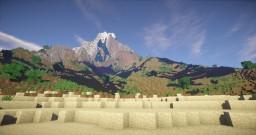 Epic Mountan island Minecraft Map & Project
