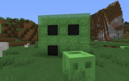 Cute Slime Minecraft Map & Project