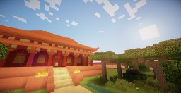 Minecraft Chinese Inspired Temple Minecraft