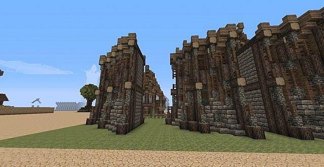 Elven Wall Segments Advanced Minecraft Map