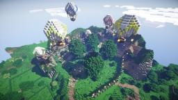 Lightcity Spawn - LightcraftMC V3 - Steampunk Style Minecraft Map & Project