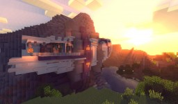 [Piece of Modern Contest] Mountain Modern House Minecraft Map & Project