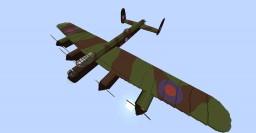 Lancaster Bomber Minecraft