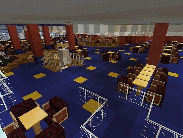 Norwegian Spirit Cruise Ship Full Interior Minecraft Project