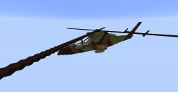 Tiger Helicopter Minecraft Project